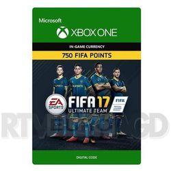 FIFA 17 750 Punktów [kod aktywacyjny] - produkt z kategorii- Pozostałe akcesoria do konsoli