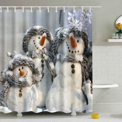 Bathroom Waterproof Shower Curtain - produkt z kategorii- Pozostałe akcesoria łazienkowe