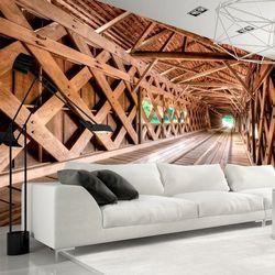 Artgeist Fototapeta - drewniany most