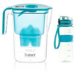 BWT dzbanek filtrujący Vida + sportowa butelka, niebieski, 109023