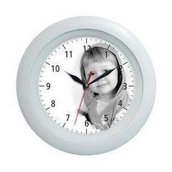Zegar ścienny LOGO plastik classic, L128B