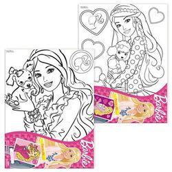 Podobrazie do malowania STARPACK 276610 z akcesoriami Barbie, produkt marki Starpak