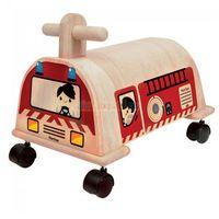 Drewniany jeździk straż pożarna,  plto-3474 marki Plan toys