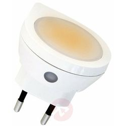Lampka nocna LED LightMe LM85229 LM85229, LED wbudowany na stałe, (ØxW) 5.4 cmx5.9 cm, biały (4020856852291)