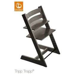 Stokke  ® krzesełko tripp trapp ® hazy grey, kategoria: krzesła i stoliki