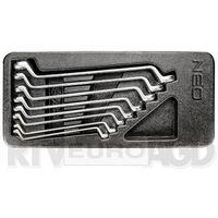 NEO 84-233 Klucze oczkowe odgięte 6-22 mm, zestaw 8 szt., wkładka (5907558424300)