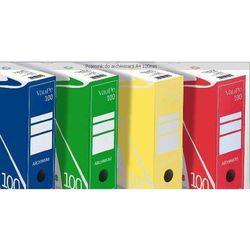 Pudło archiwizacyjne Vaupe A4 10 cm zielone (435/06) (9904287435061)