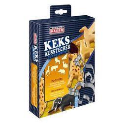 Kaiser / x-mas kolekcje świąteczne Kaiser xmas foremki, wykrawacze do ciastek zwierzaki 6 sztuk zestaw nr 4