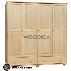 Woodica 11.szafa 4d2s 176x190x60