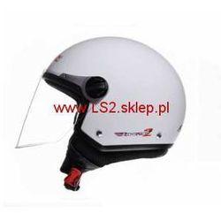 KASK LS2 OF560.1 ROCKET II. Biały POŁYSK / White Black - produkt z kategorii- kaski motocyklowe
