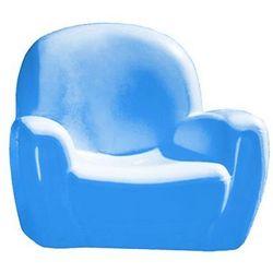 wygodny błękitny fotel do dziecięcego pokoju marki Chicco