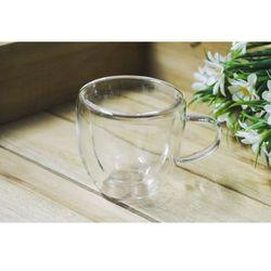 GIARDINO HOME Filiżanka szklana z podwójnymi ściankami 100 ml