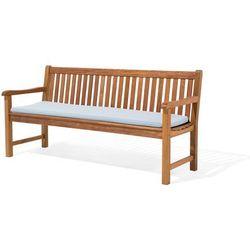 Poducha na ławkę TOSCANA/JAVA jasnoniebieska 169 x 50 x 5 cm