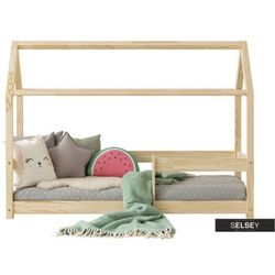 łóżko dalidda domek z barierką marki Selsey