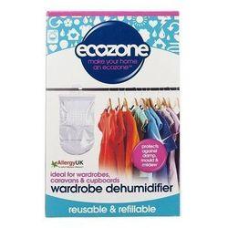 Naturalny osuszacz powietrza - wiszący do szafy - starcza na 3 miesiące - marki Ecozone