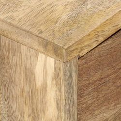 Vidaxl szafka pod telewizor, 140x30x50 cm, lite drewno mango