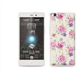 Fantastic Case - Allview X1 Soul - etui na telefon Fantastic Case - pastelowe różyczki - produkt z kategorii