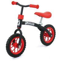 Rowerek biegowy E-Z Rider 10, black red (4894352810020)