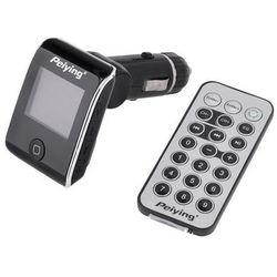 Peiying TRANSMITER FM MP3 USB SD WYSWIETLACZ 1,4 CALI (5901436752646)