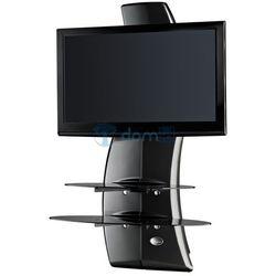 Półka pod TV z maskownicą GHOST DESIGN 2000 ROTATION VESA karbonowa, Meliconi s.p.a. z Domid.pl