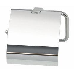 Wieszak na papier toaletowy z klapką pombo sensis mat lub połysk marki Pombo design