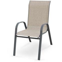 Halmar Krzesło ogrodowe mosler popiel