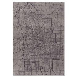 Dywan Soft City 160 x 230 cm popielaty