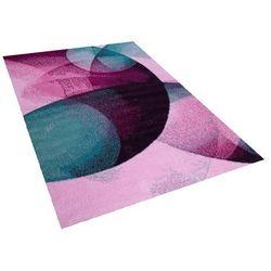 Dywan różowo-zielony 160 x 230 cm krótkowłosy EDESA (4260586351422)