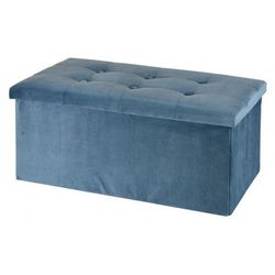 Pufa Milia - niebieska