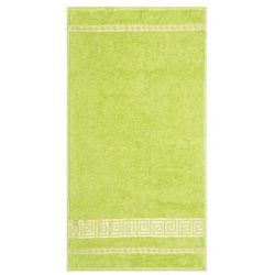 Night in colour ręcznik ateny zielony, 50 x 90 cm, 50 x 90 cm marki Night in colours