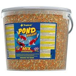 Tropical Pond pellet mix size m pływający pokarm 5l/550g