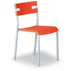 Krzesło kuchenne lindy, pomarańczowy marki B2b partner