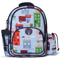 PENNY SCALLAN Duży plecak z kieszeniami - Niebieski w samochody - sprawdź w wybranym sklepie