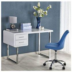Producent: profeos Lakierowane biurko dergo - biały połysk