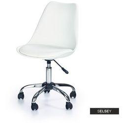 Selsey fotel biurowy klisa biały