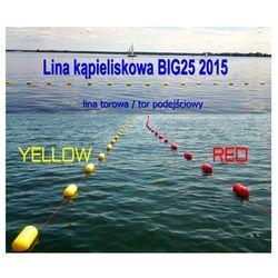 Lina kąpieliskowa Big 25 - żółta lub czerwona, Kevisport z Sklep Ratownik24.pl