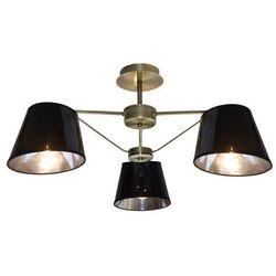 Candellux Lampa wisząca zwis cortez 3x40w e14 patyna 33-54982 (5906714854982)