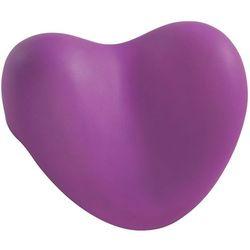Wenko Poduszka relaksująca do wanny, fioletowe serce,