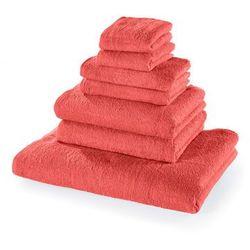 Bonprix Komplet ręczników (7 części) koralowy