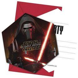Zaproszenie urodzinowe star wars - the force awakens- 1 szt. marki Procos