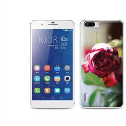Foto Case - Huawei Honor 6 Plus - etui na telefon Foto Case - pączek róży (Futerał telefoniczny)