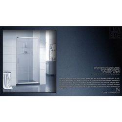 DRZWI PRYSZNICOWE AXISS GLASS AN6121D 1100mm - produkt z kategorii- Drzwi prysznicowe