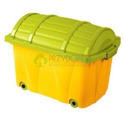 Skrzynia Pirata kufer morelowy zielony OK-0571 z kategorii skrzynie
