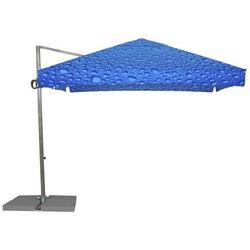 Parasol Ogrodowy Rio 3x3m - Bąbelki Niebieskie