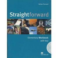Straightforward elementary Workbook with key + Cd, oprawa miękka