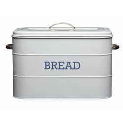 retro chlebak - pojemnik na pieczywo szary wyprodukowany przez Kitchen craft