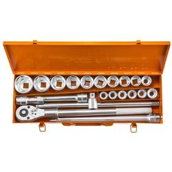Zestaw kluczy nasadowych NEO 3/4 cala 08-061 (21 elementów) + Zamów z DOSTAWĄ JUTRO! + DARMOWY TRAN