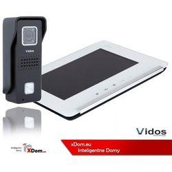 Vidos Zestaw wideodomofonu stacja bramowa z szyfratorem monitor 7'' s6b_m690ws2
