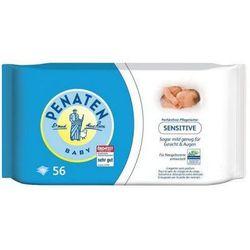 chusteczki oczyszczające do twarzy i ciała dla niemowląt 56szt. od producenta Penaten