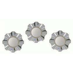 Glamour zestaw luster Silia - okrągłe, Now000039
